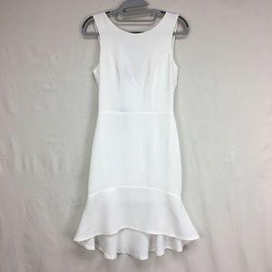 Romeo + Juliet Couture White Drop Waist Dress